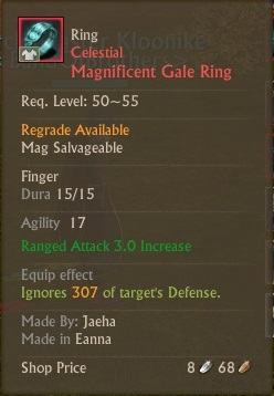 Celestial Magnificent Gale Ring